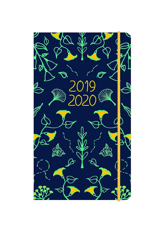 Collins Blossom 2019-2020 - Agenda semanal, diseño de flores ...