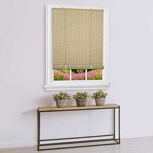 Achim Home Furnishings Vinyl Roll-Up Blind Cordless Veranda