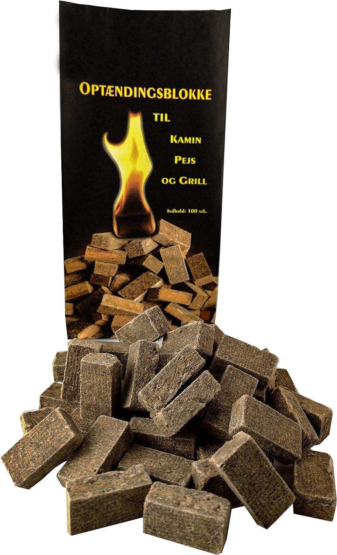 5 kg Ofenanzünder allume-cigare holzanzünder cheminée allumeurs de holzwolle et cire