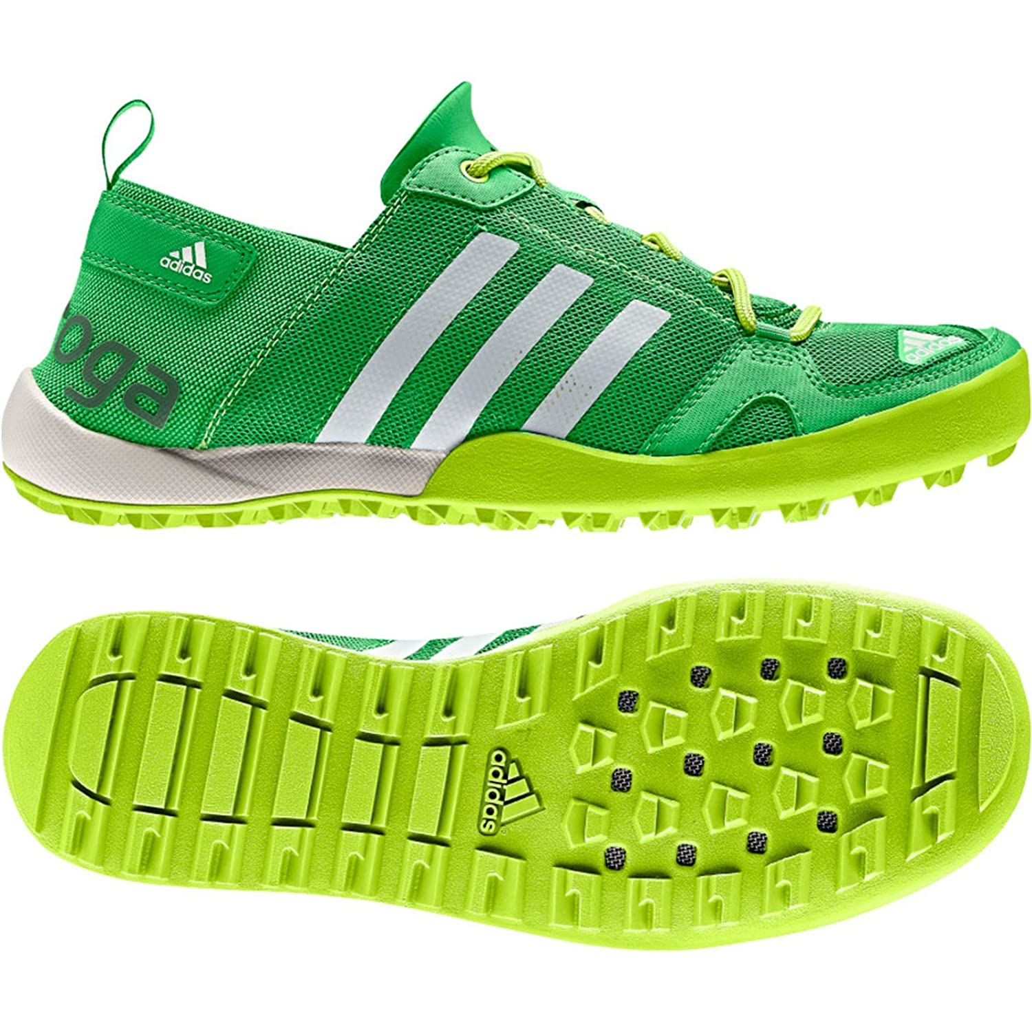 8c1a124ff5bd3 adidas D66328 Men s CLIMACOOL DAROGA TWO 13 Vivid Green Chalk Solar Slime  Athletic Shoes 9.5  UK SIZE 8.5  Amazon.co.uk  Shoes   Bags