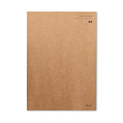 elago Kraft Notebook [HANDCRAFTED] - B5 Size (7.17 inches X 10.12 inches)