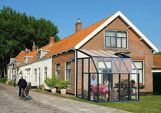 RION &apos plástico invernaderos/Jardín de Invierno Sun Lounge 33 (197 x 194 x 245) + claraboya: Amazon.es: Jardín