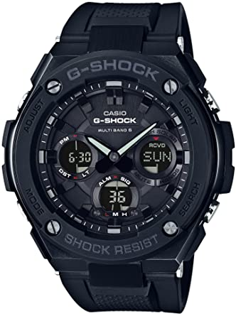 7706b5b3400 Amazon.com  CASIO G-SHOCK G-STEEL GST-W100G-1BJF MENS JAPAN IMPORT ...