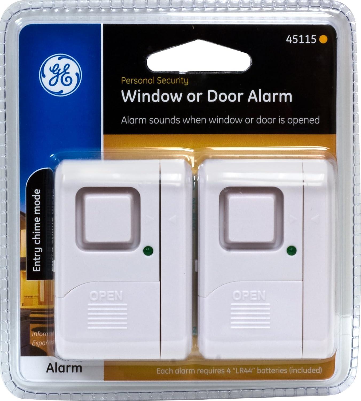 Sabre Wireless Home Security Door Window Burglar Alarm With 120
