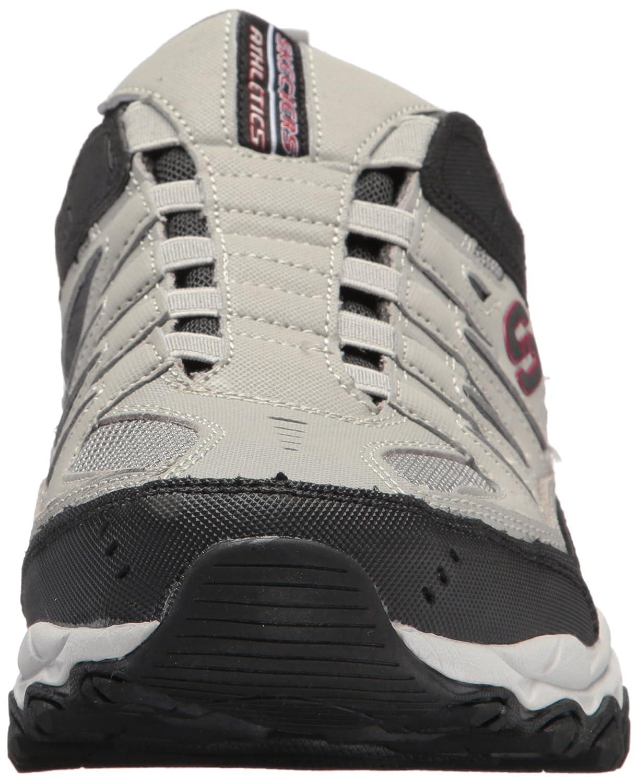 Skechers-Afterburn-Memory-Foam-M-fit-Men-039-s-Sport-After-Burn-Baskets-Chaussures miniature 50