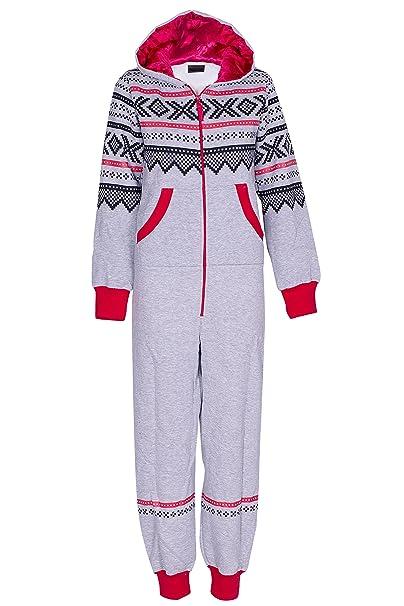 Azteca Imprimir Print Onesie Pijamas de una pieza para Mujeres Señoras: Amazon.es: Ropa y accesorios