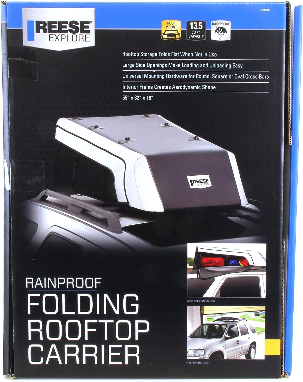 Reese Explore 1391800 Rainproof Expandable Car Top Carrier