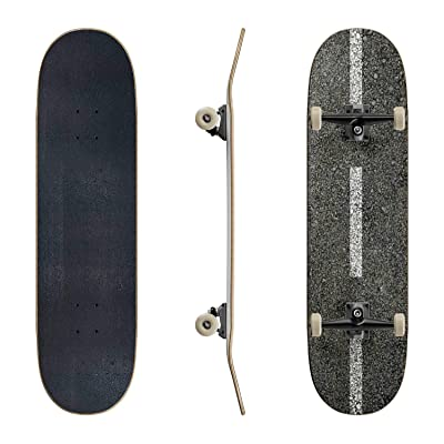 EFTOWEL Skateboards Asphalt Texture Asphalt Road Stock Pictures Royalty Free Photos Classic Concave Skateboard Cool Stuff Teen Gifts Longboard Extreme Sports for Beginners and Professionals : Sports & Outdoors