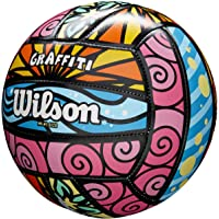 Wilson Pelota de vóley-Playa, Exterior, Uso recreativo, Graffiti, Morado/Azul/Verde
