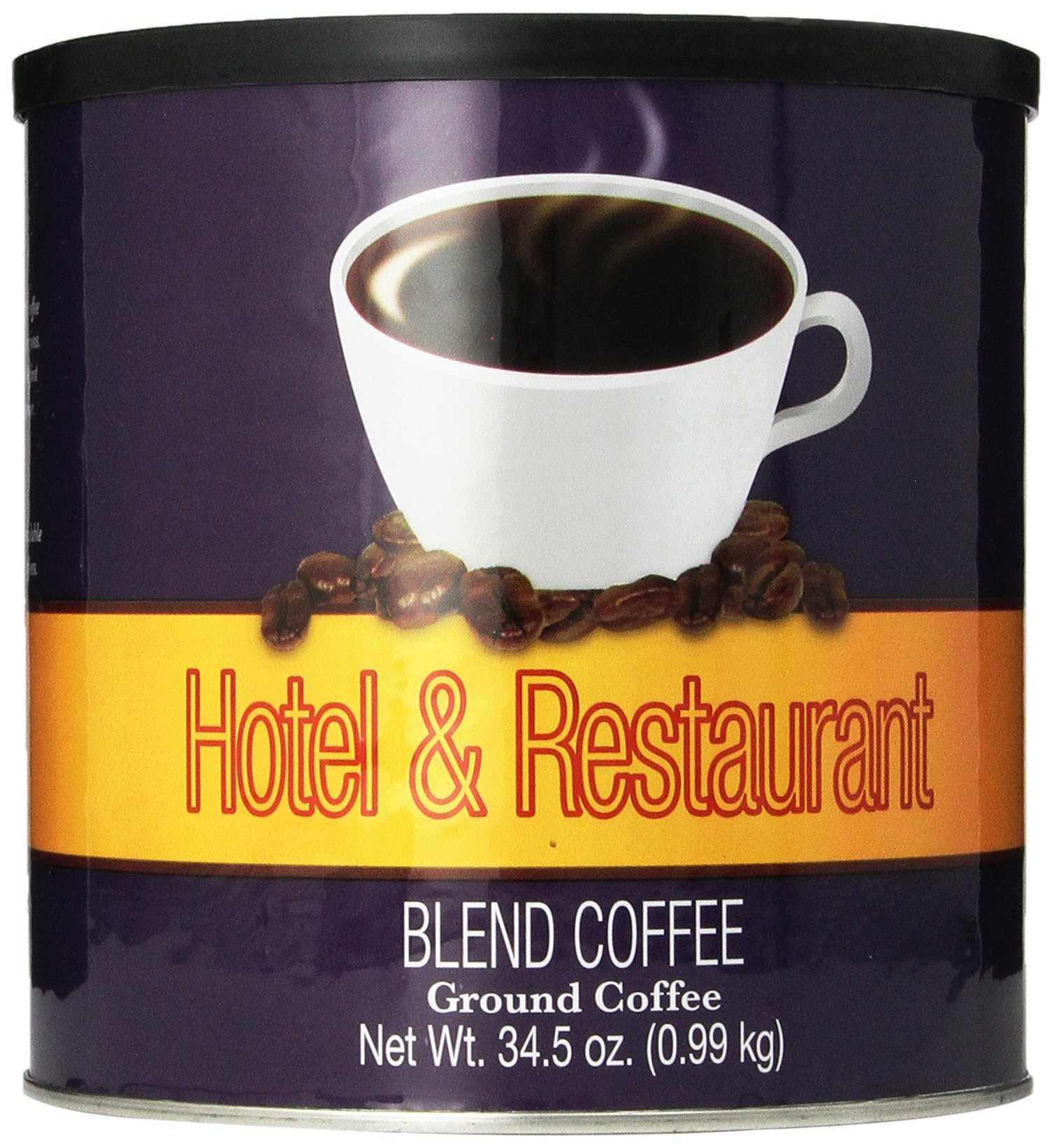 Chef's Quality Hotel and Restaurant Blend Ground Coffee,  34.5 Ounce