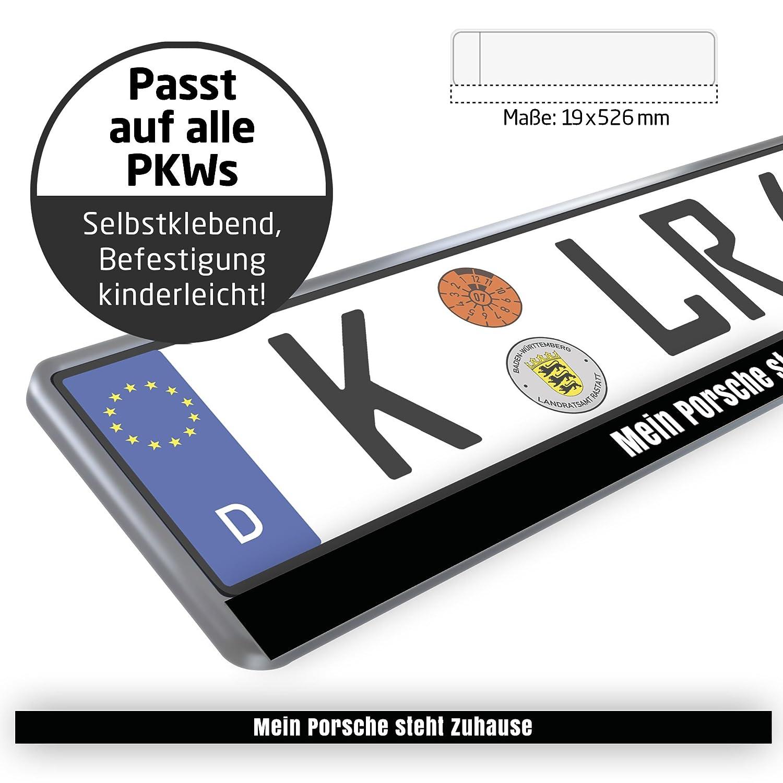 Design-Kennzeichenschild \