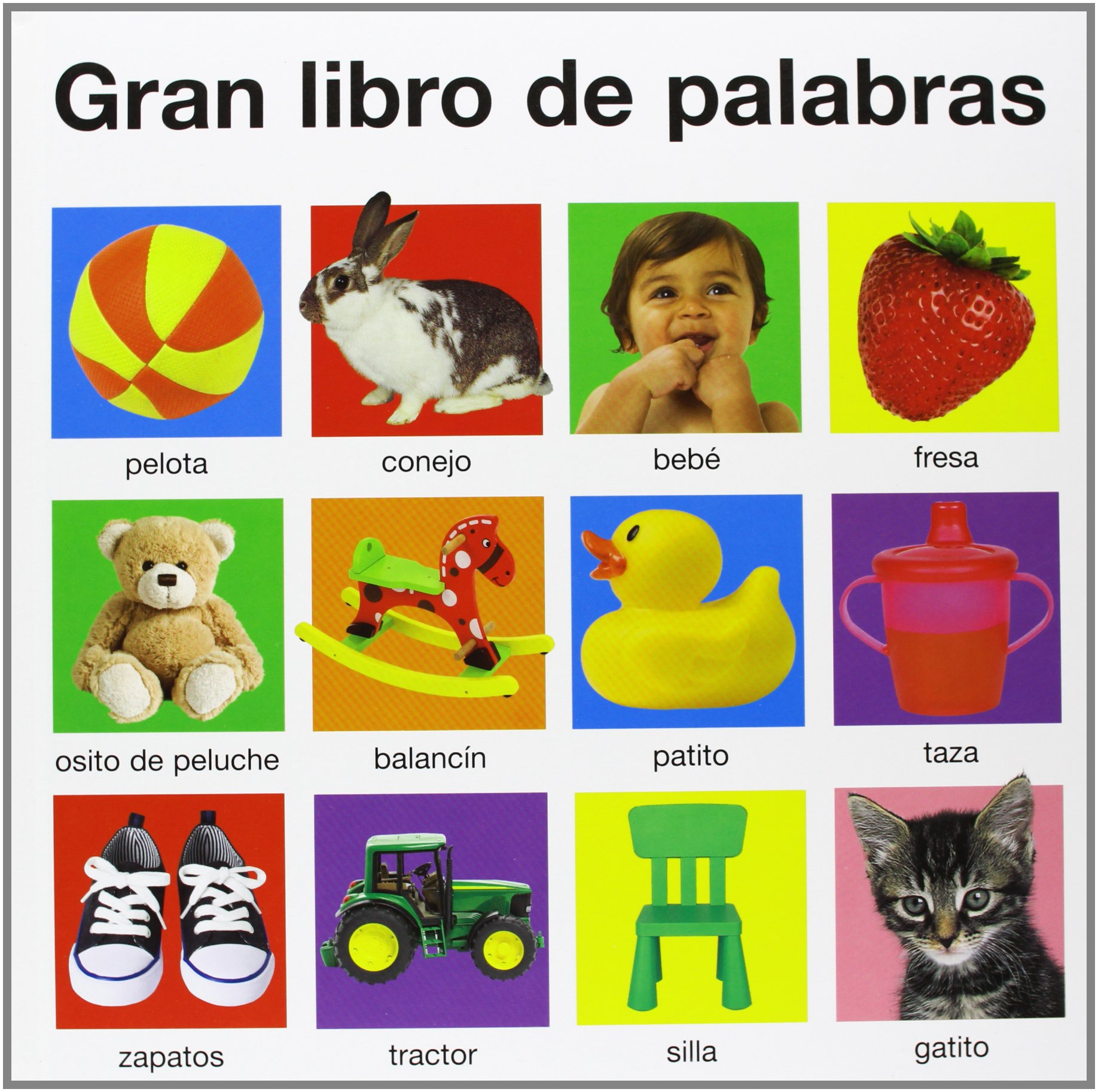 Gran libro de palabras (Spanish) Hardcover – September 17, 2013