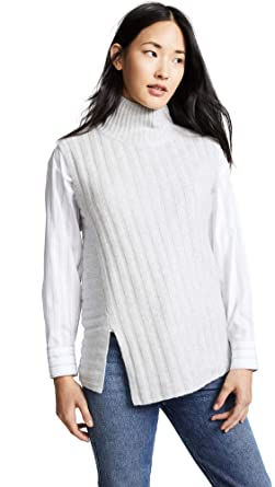 c17293d7fef9a Amazon.com  Vince Women s Rib Sleeveless Turtleneck Sweater  Clothing