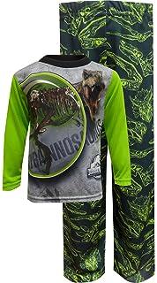 AME Sleepwear Boys Jurassic World T-Rex Tyrannosaurus Pajama