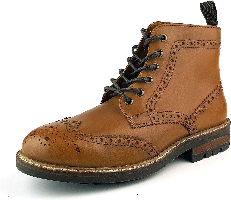 Red Tape Devlin Boots Tan Brown 6 UK