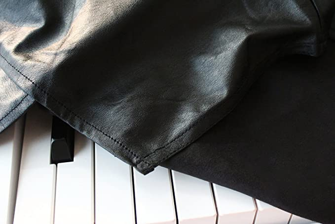Clairevoire Funda para piano digital (negro ébano) para teclado de 88 teclas, compatible con Yamaha P115 / P105 / P85 / P45, Casio / PX150 / PX160 / ...