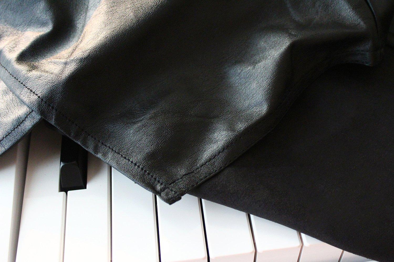 Cubierta Clairevoire Para Piano Digital [Negro Ébano] para teclados de 88 teclas   Ideal para Yamaha P125 / P115 / P105 / P85 / P45   Casio / PX150 / PX160 ...