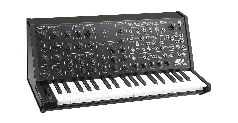 Korg Ms20 Mini Semi Modular Analog Synthesizer Ms20mini Mono To Stereo Multicolored M Musical Instruments