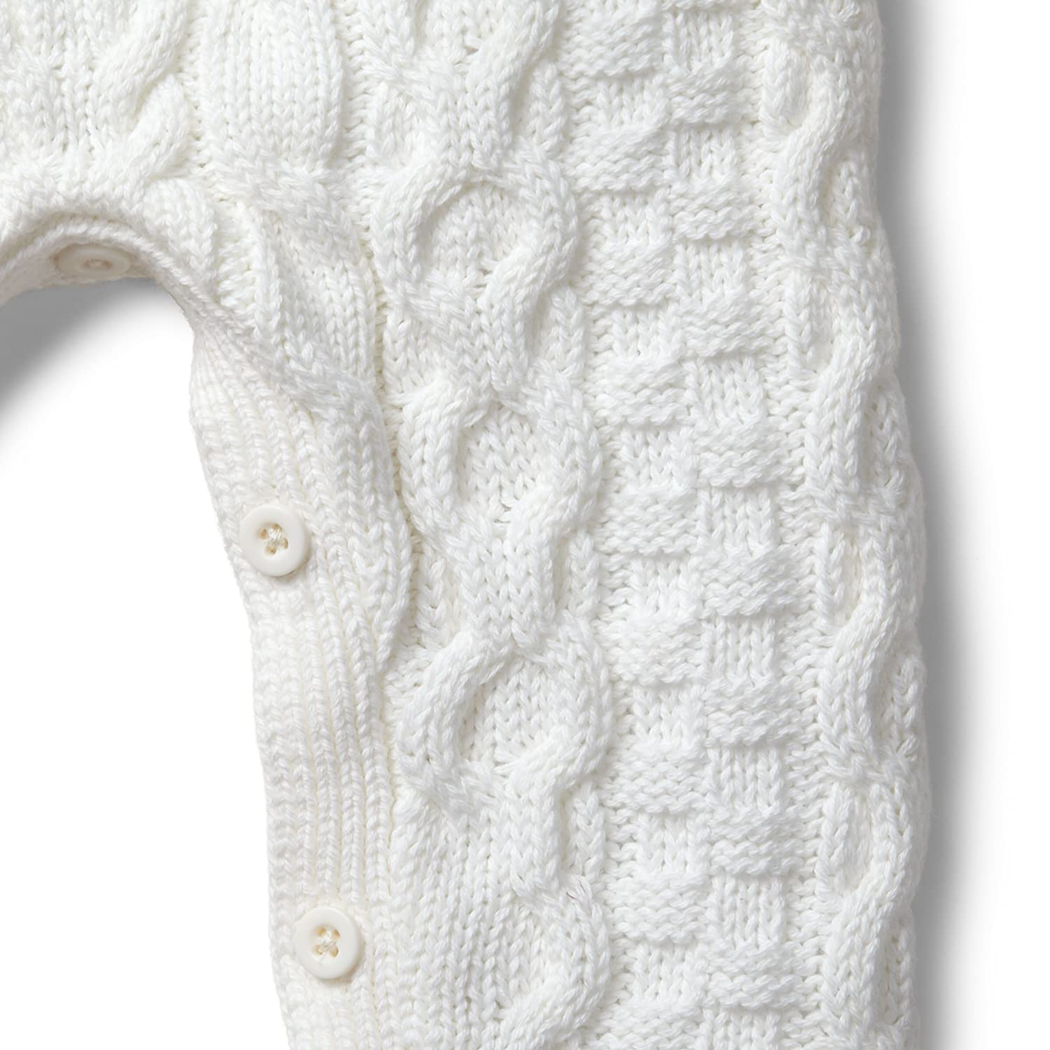 Amazon Hope Henry Layette Cable Knit Sweater Romper Made With