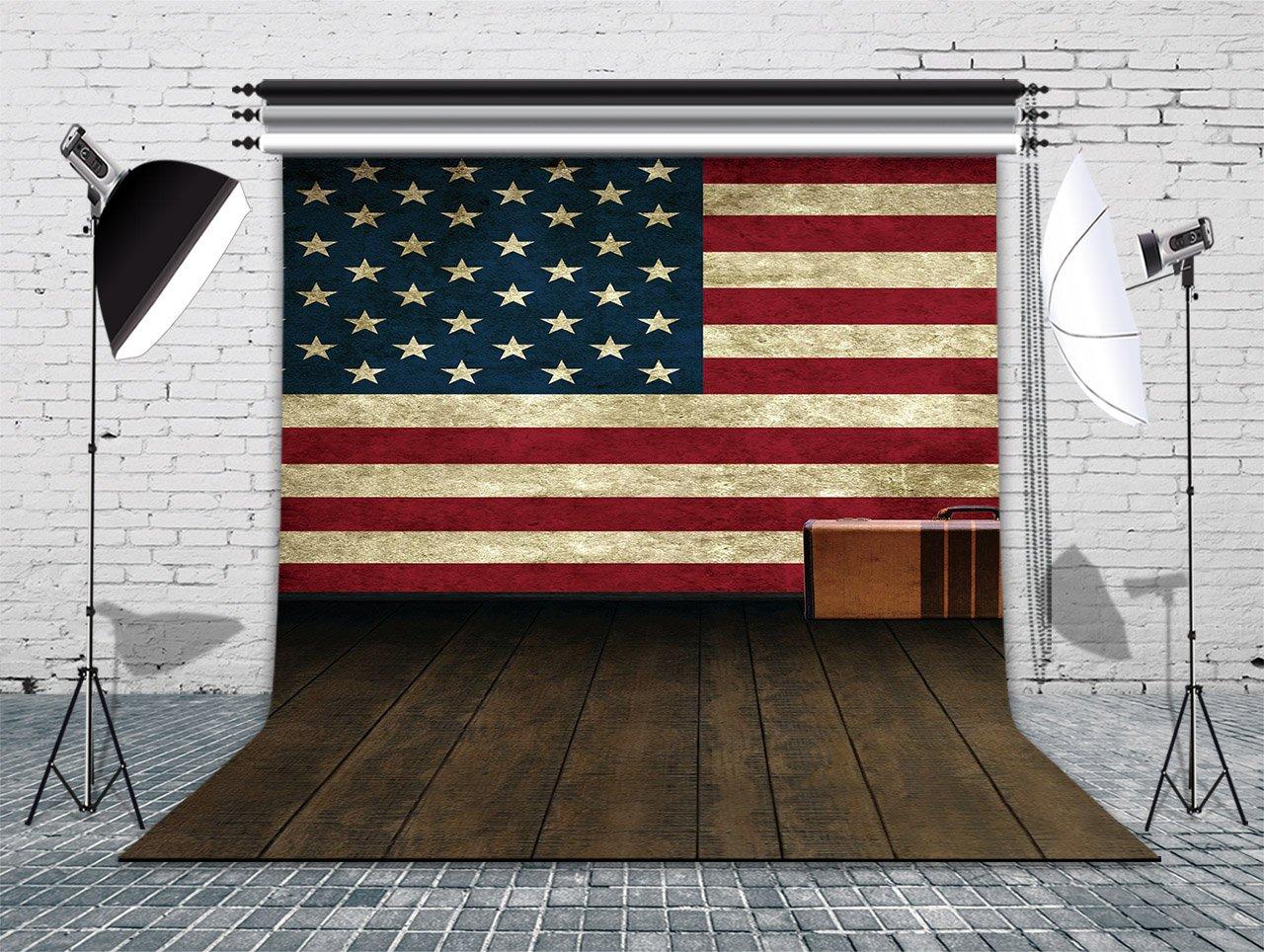 LB 10x10ft National flag Vinyl Photography Backdrop Customized Photo Background Studio Prop 14-153 by backdropday