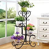 TrustBasket Bell Flower Planter Stand for Plants