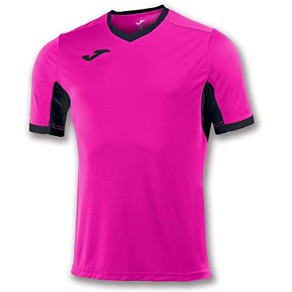 Joma Teamwear T-Shirt Champion IV Short Sleeves Pink-Black