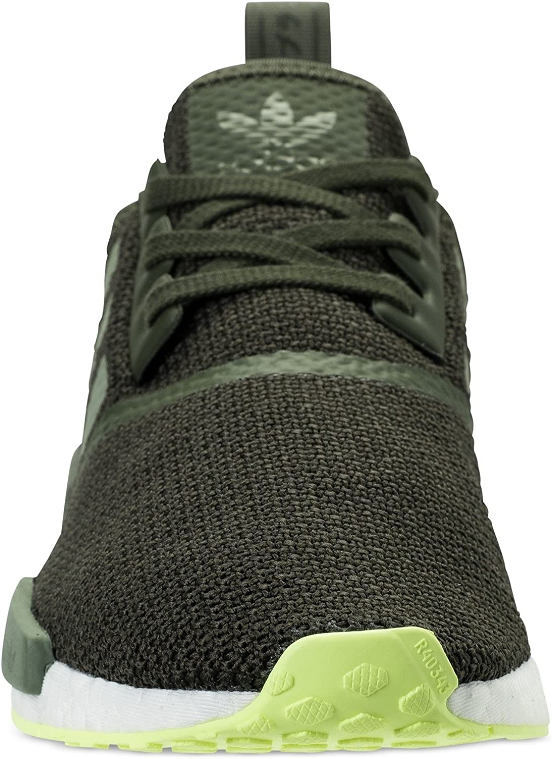 Adidas NMD R1 Basket Mode Homme Night Cargo Base Green Semi Frozen Yellow