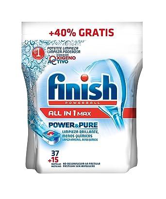 Finish Pastillas para lavavajillas Power&Pure Regular - 37 ...