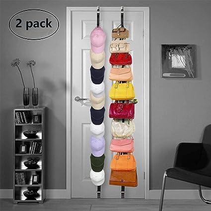 2d9c0ccc318 Amazon.com  Baseball Holder Caprack Hat Organizer Storage Hanger Display   Home   Kitchen