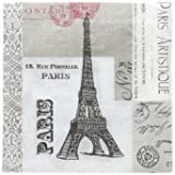 Paperproducts Design 5x5 Paris Cocktail/Beverage