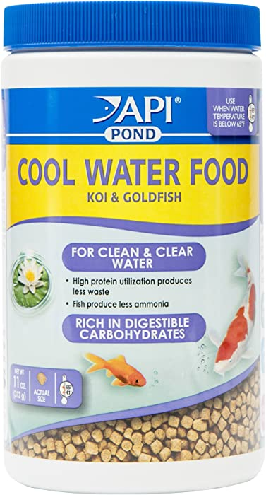API POND COOL WATER FOOD Pond Fish Food 11-Ounce Container