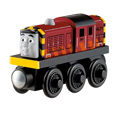 Fisher-Price Thomas & Friends Wooden Railway, Salty: Toys & Games