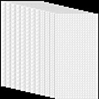 12 Sheets Foam Dots Dual-Adhesive 3D Foam Tapes Foam Pop Dots Adhesive Round Double Sided Dual-Adhesive 3D Foam Tapes…