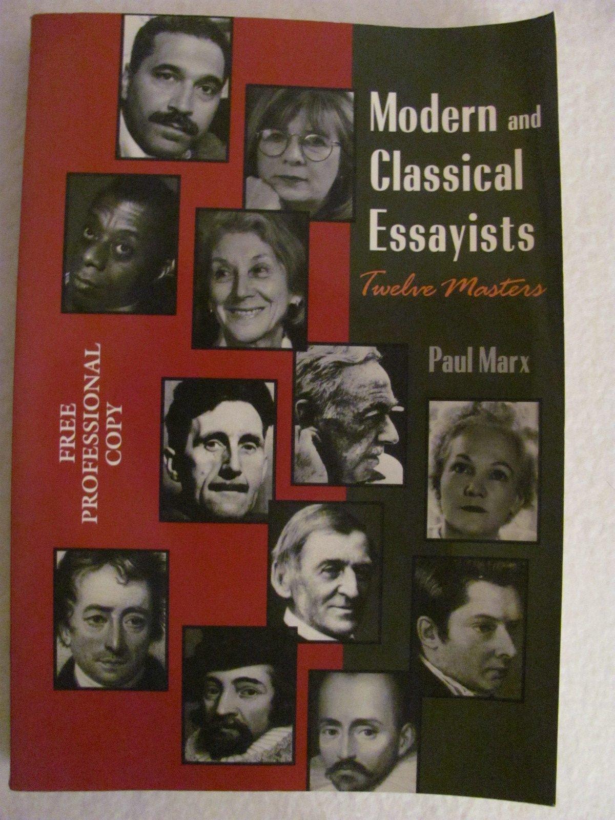 modern canadian essayists