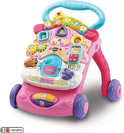 Pink VTech First Steps Activity Baby Walker 6 Months