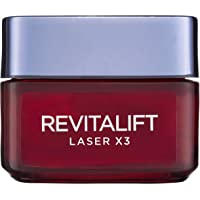 L'Oréal Paris Revitalift Laser X3 Re-Densifying Anti-Ageing Day Moisturiser, with Pro-Xylane, Dermatologically Tested…