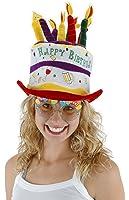 elope Birthday Cake Cheers Hat,white,one size