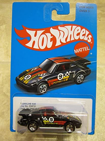 Hot Wheels 2016 Exclusive Retro Series Porsche 930 Turbo Race Car black