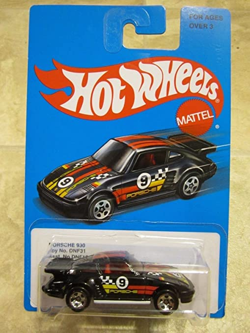 Amazon.com : Hot Wheels 2016 Exclusive Retro Series Porsche 930 Turbo Race Car black : Everything Else