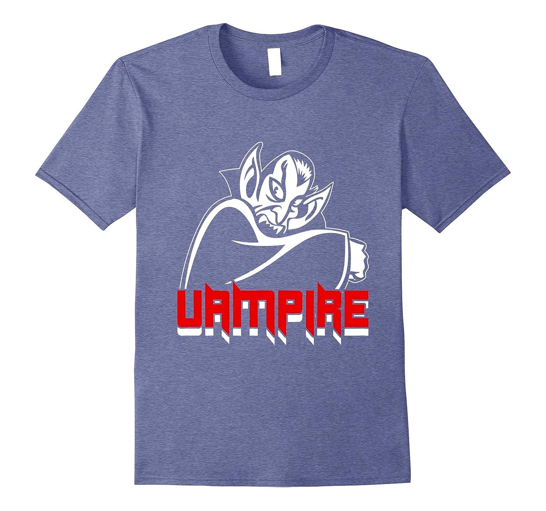 Amusing Vampire Halloween T-shirt-mt
