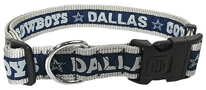 0f47862ee17eb Amazon.com   Pets First NFL Dallas Cowboys Dog Collar