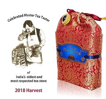 Rare Darjeeling Tea Leaves 2018 HARVEST (50 CUPS), Autumn Season Darjeeling  Black Tea -