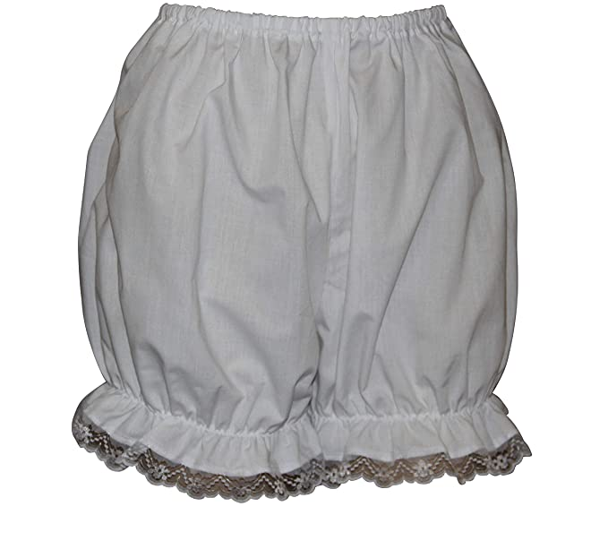 1920s Style Underwear, Lingerie, Nightgowns, Pajamas Brigitta Victorian/Edwardian Bloomers - Pantaloons with Lace Trim Fancy Dress Sissy Knickers £9.50 AT vintagedancer.com