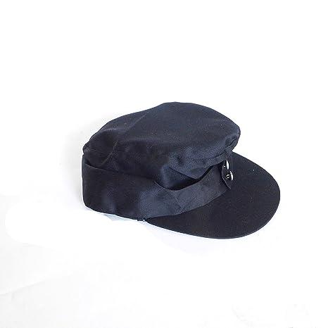 Amazon.com   ANQIAO WW2 German M1943 Field Hat Black 1943 Cap (58 cm ... 343b92d9459