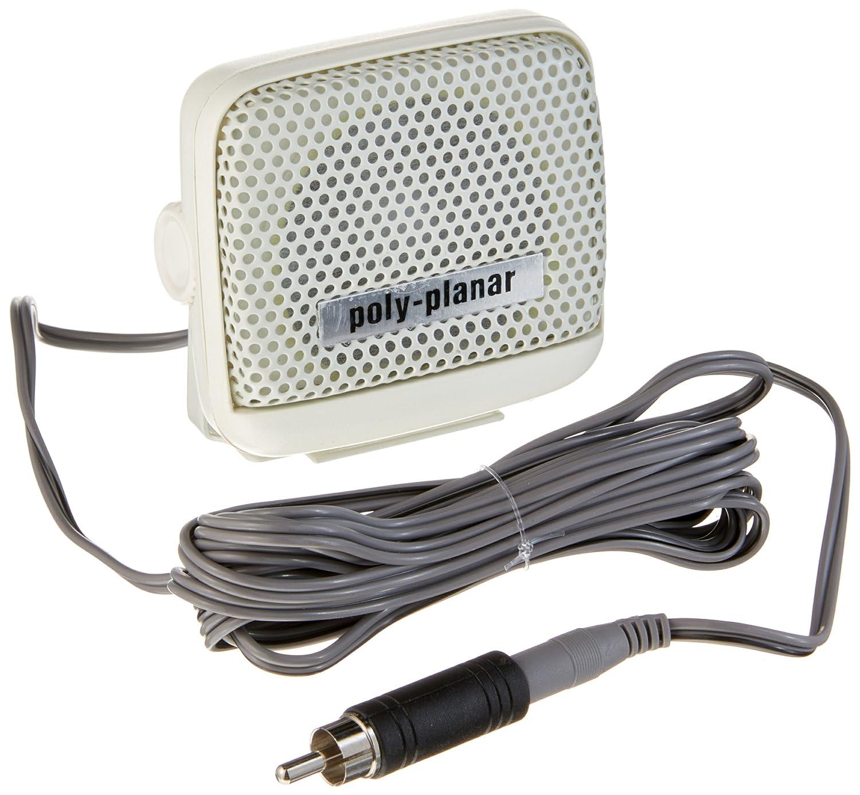 PolyPlanar VHF Extension Speaker 8W Surface Mount Black