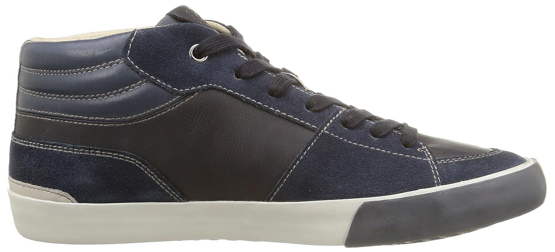 Geox U54X2A Sneakers Homme Cuir/suède Bleu Bleu 39: Amazon.fr: Chaussures  et Sacs