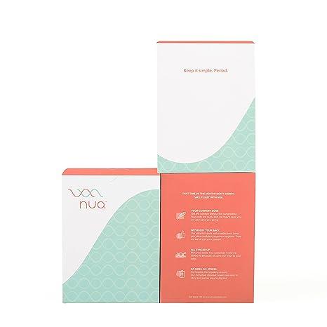 Nua Sanitary Napkins - Pack Of 12 (XL+L+R)