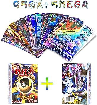 OMZGXGOD Pokemon Tarjetas, 100 Piezas Pokemon Cartas, Tarjetas de Pokemon Cartas Coleccionables, Pokemon Trading Cards Game Battle Card (100 Pokemon Cartas): Amazon.es: Juguetes y juegos