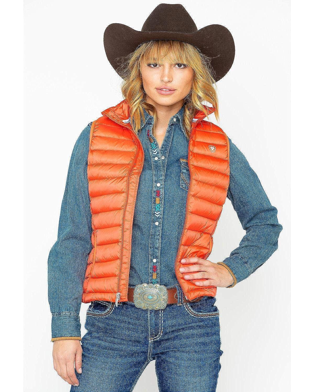 Ariat Women's Idea Down Vest Ariat Womens Code 10023942