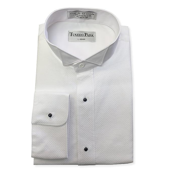 6f3e43dd6d White Pique Tuxedo Shirt at Amazon Men's Clothing store